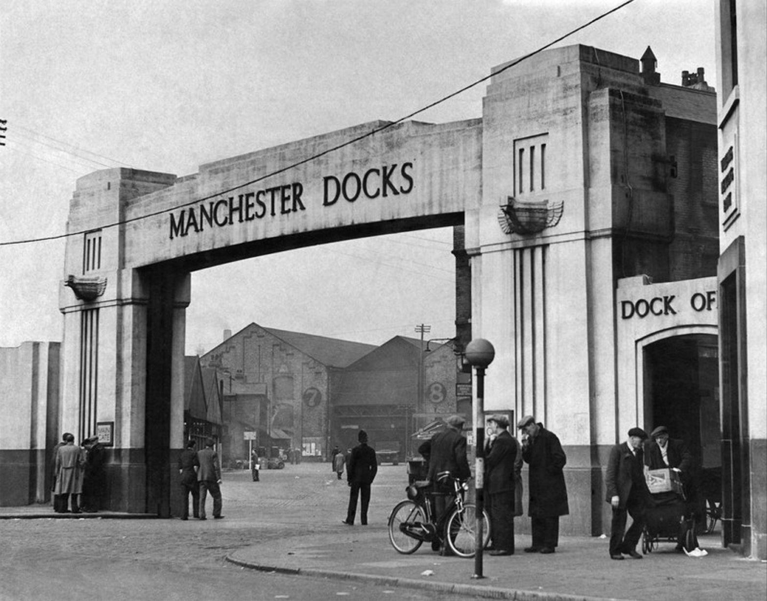 Manchester Docks, May 1951