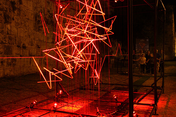 Picture of Winner: Darc Awards Best Light Art Scheme