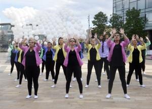 Umbrellium's Mini Burble with Dancers